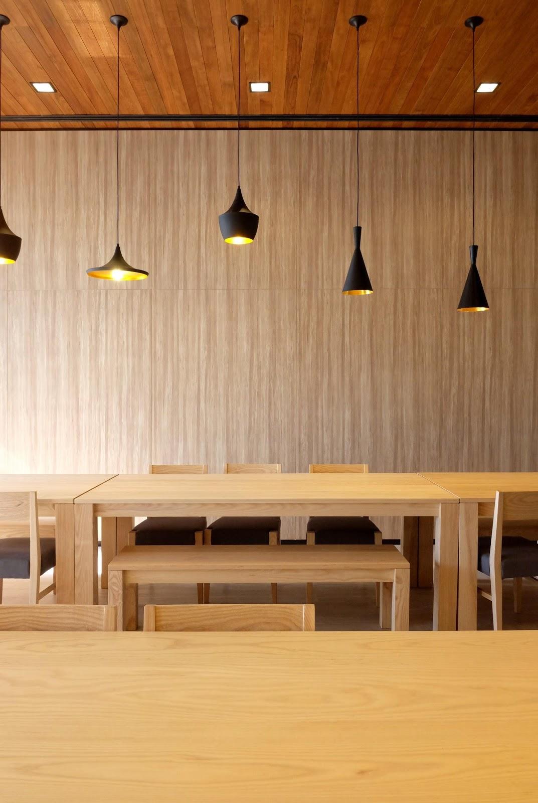 faux plafond en bois - bureaux professionnels
